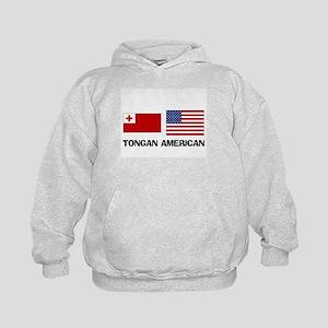 Tongan American Kids Hoodie