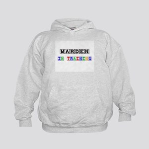 Warden In Training Kids Hoodie