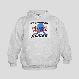 ketchikan alaska - been there, done that Kids Hood