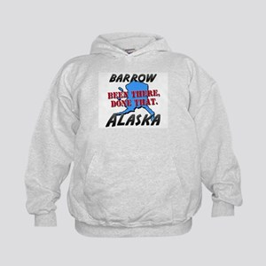 barrow alaska - been there, done that Kids Hoodie