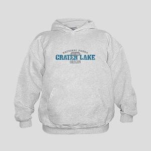 Crater Lake National Park OR Kids Hoodie