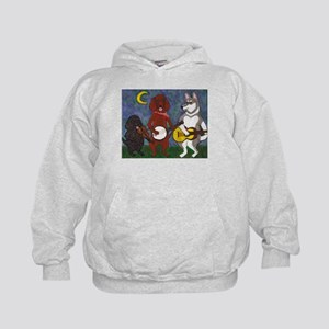 Country Dogs Kids Hoodie