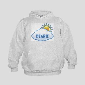 dearie (clouds) Kids Hoodie