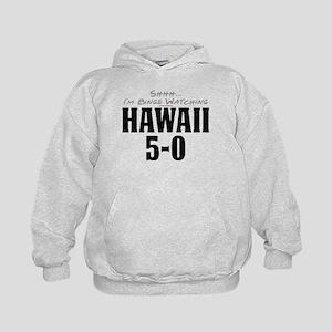 Shhh... I'm Binge Watching Hawaii 5-0 Kid's Hoodie