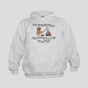 Professional Marshmallow Roaster Kids Hoodie