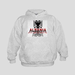 3D Albania Kids Hoodie
