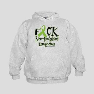 Fuck Non-Hodgkins Lymphoma Kids Hoodie
