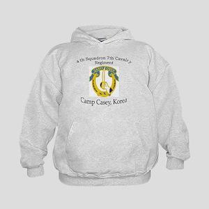 4th Squadron 7th Cavalry Kids Hoodie