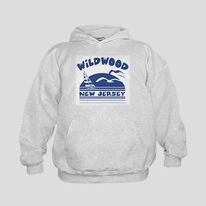 Wildwood New Jersey Kids Hoodie