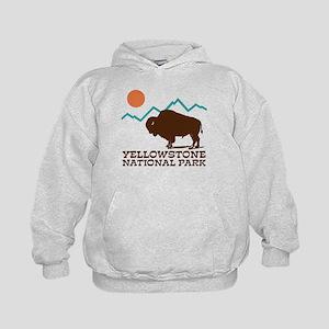 Yellowstone National Park Kids Hoodie