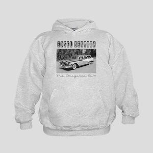 Edsel Bermuda, the Original SUV Kids Hoodie