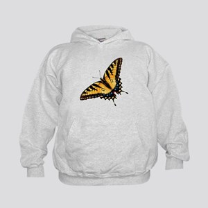 Tiger Swallowtail Butterfly Kids Hoodie