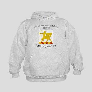 1st Bn 6th Artillery Kids Hoodie