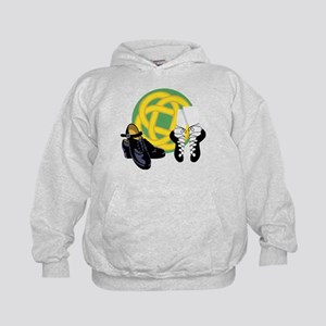 Celtic Knot Irish Shoes Hoodie