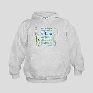 Nature Atttachment Kids Hoodie