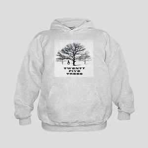 Twenty Five Trees Kids Hoodie