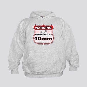 protected by 10mm shield Hoodie