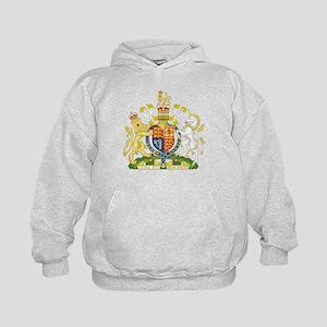 United Kingdom Coat Of Arms Kids Hoodie