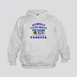 Michigan State Police Kids Hoodie