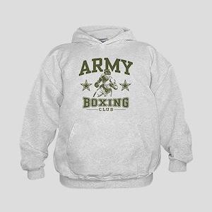 Army Boxing Kids Hoodie