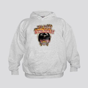 Doc holiday tombstone gifts Kids Hoodie