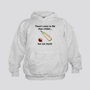 More To Life Than Cricket Hoody