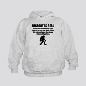Bigfoot Is Real Hoodie
