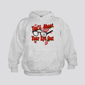 You'll shoot your eye out! Kids Hoodie