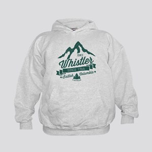 Whistler Mountain Vintage Kids Hoodie