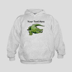Green Alligator Hoodie