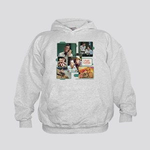 Andy Griffith Collage Kids Hoodie