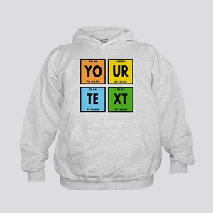 Your Text Periodic Elements Nerd Speci Kids Hoodie