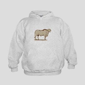 Brahman Bull Drawing Hoodie