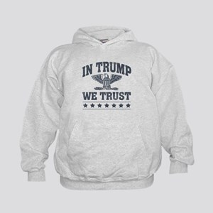 In Trump We Trust Kids Hoodie