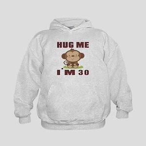 Hug Me I Am 30 Kids Hoodie