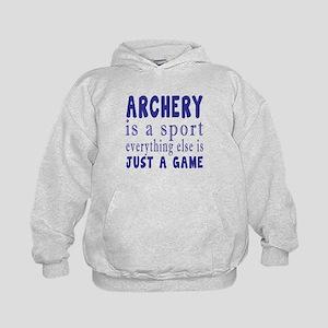 Archery is a sport Kids Hoodie