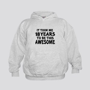 18 Years To Be This Awesome Kids Hoodie