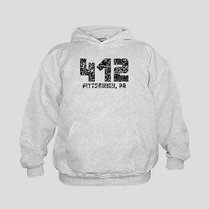 412 Pittsburgh PA Area Code Hoodie