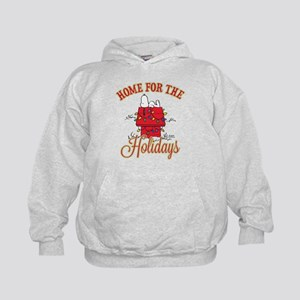 Home for the Holidays Kids Hoodie