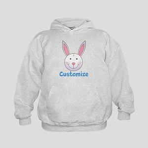 Custom Easter Bunny Kids Hoodie