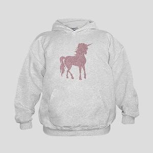Pink Unicorn Kids Hoodie