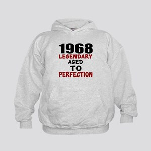1968 Legendary Aged To Perfection Kids Hoodie