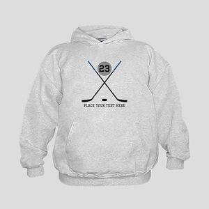 Ice Hockey Personalized Kids Hoodie