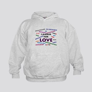 I March for Love Sweatshirt