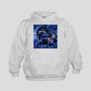 Fantasy Black Horse Sweatshirt