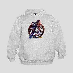 Avengers Infinity War Symbol Kids Hoodie