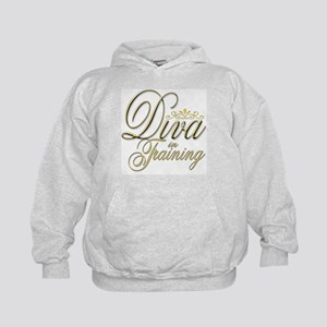 Diva in Training Kids Hoodie
