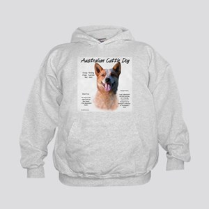 Cattle Dog (red) Kids Hoodie