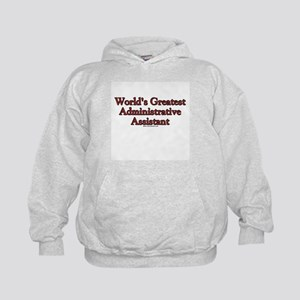 World's Greatest Admin Assist Kids Hoodie