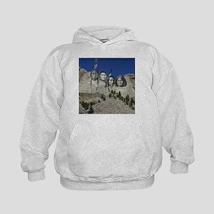 Native Mt. Rushmore Kids Hoodie